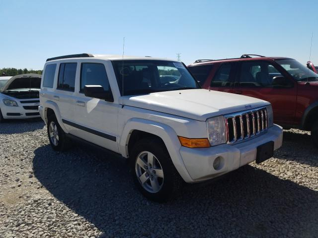 Jeep Commander salvage cars for sale: 2008 Jeep Commander