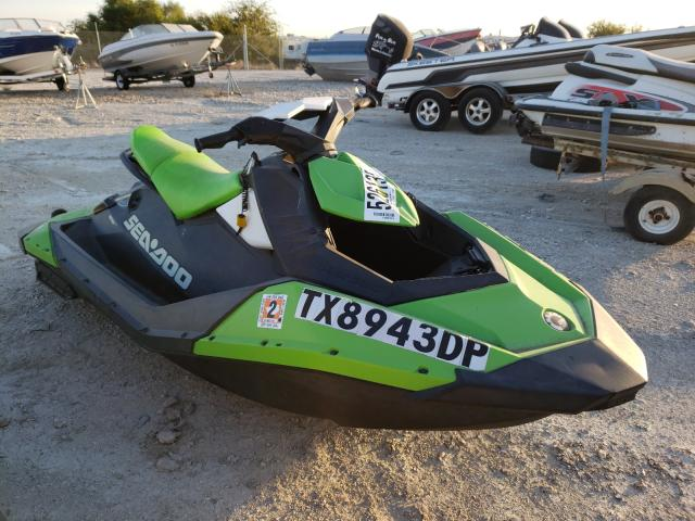 Salvage cars for sale from Copart Grand Prairie, TX: 2016 Seadoo Spark