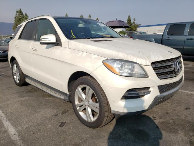 Mercedes-Benz ML 350 salvage cars for sale: 2014 Mercedes-Benz ML 350