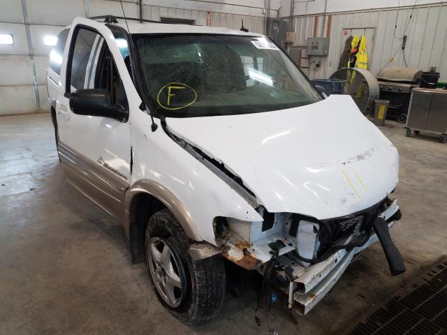 Pontiac Montana salvage cars for sale: 2002 Pontiac Montana