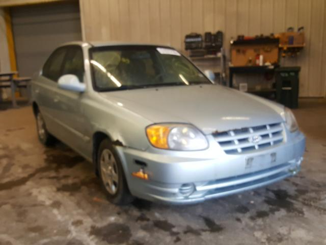 Hyundai Accent salvage cars for sale: 2005 Hyundai Accent