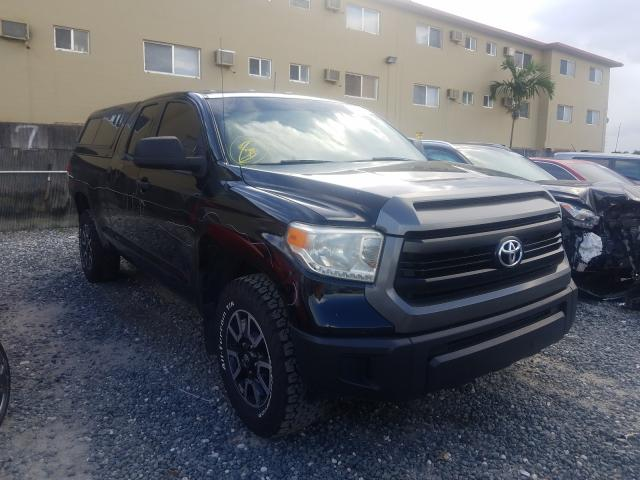 Salvage cars for sale from Copart Opa Locka, FL: 2016 Toyota Tundra DOU