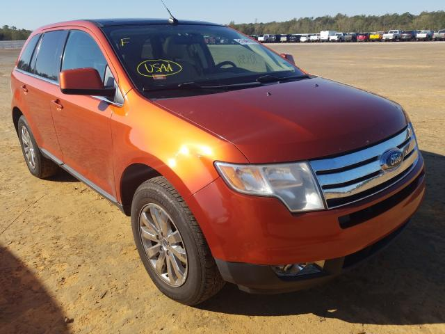 Salvage cars for sale at Theodore, AL auction: 2008 Ford Edge Limited