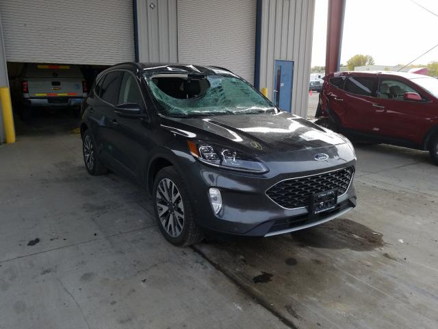2020 Ford Escape Titanium en venta en Billings, MT