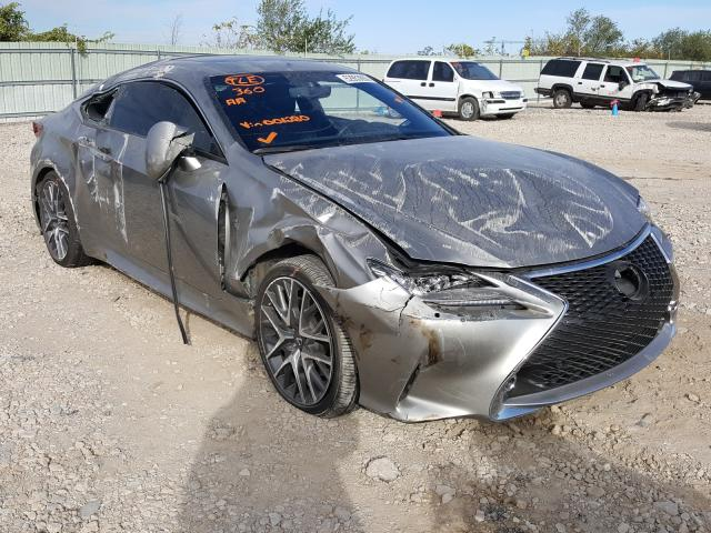 Salvage cars for sale from Copart Kansas City, KS: 2016 Lexus RC 300