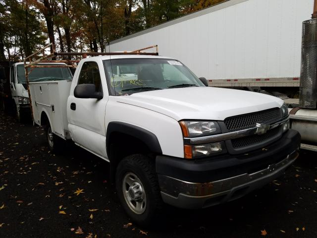 Salvage cars for sale from Copart New Britain, CT: 2003 Chevrolet Silverado