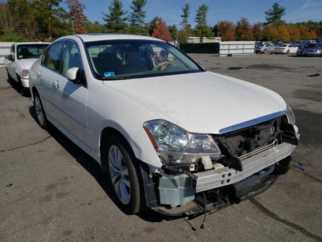 Salvage cars for sale from Copart Exeter, RI: 2010 Infiniti M35 Base