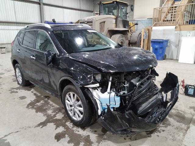 Salvage cars for sale from Copart Montreal Est, QC: 2020 Nissan Rogue S