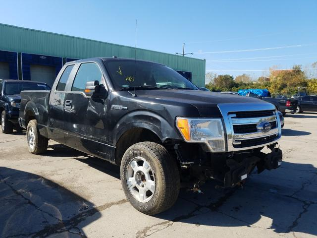 Salvage cars for sale from Copart Columbus, OH: 2013 Ford F150 Super
