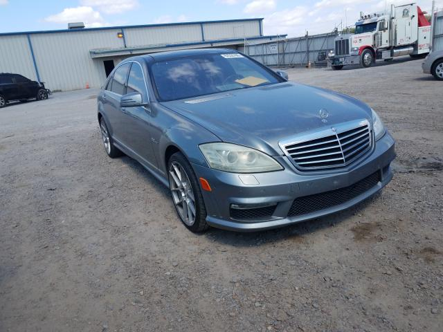 Salvage cars for sale from Copart Mercedes, TX: 2010 Mercedes-Benz S 63 AMG