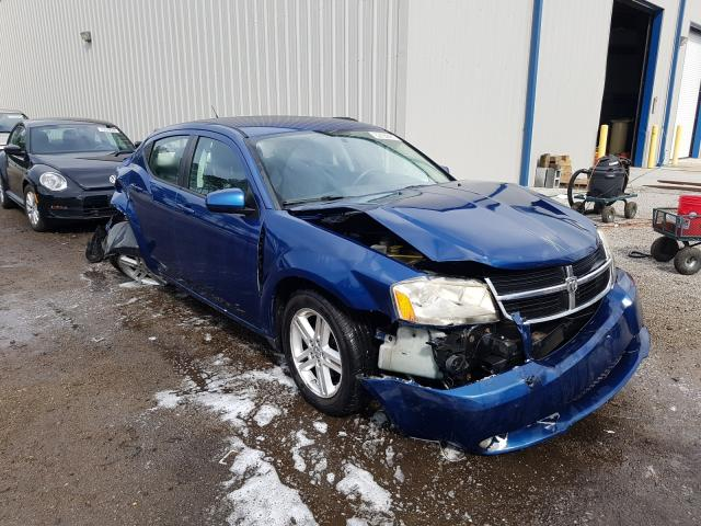 Salvage cars for sale from Copart Harleyville, SC: 2010 Dodge Avenger R