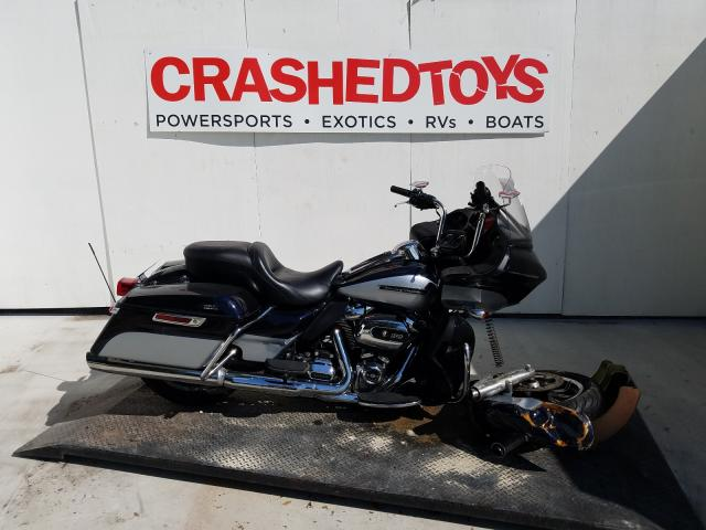 Salvage cars for sale from Copart Ocala, FL: 2019 Harley-Davidson Fltru
