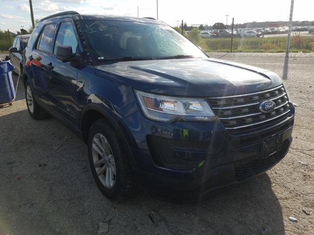 Salvage cars for sale from Copart Indianapolis, IN: 2016 Ford Explorer