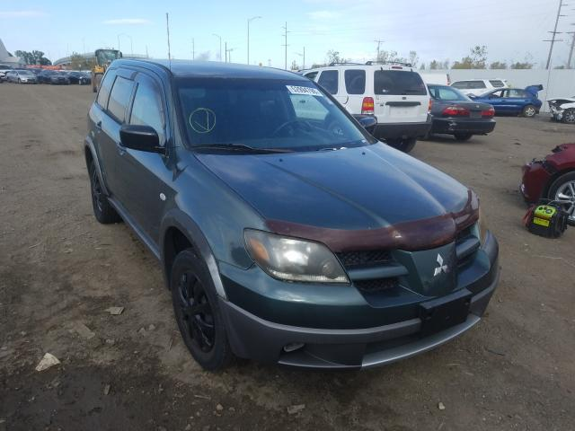 Mitsubishi salvage cars for sale: 2003 Mitsubishi Outlander