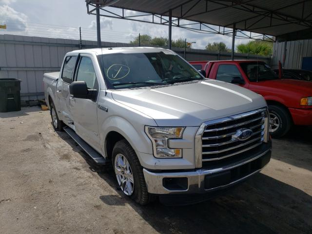 Salvage cars for sale from Copart Orlando, FL: 2016 Ford F150 Super