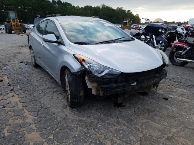 Salvage cars for sale at Austell, GA auction: 2012 Hyundai Elantra GL
