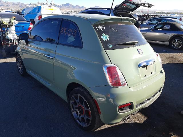 2014 Fiat 500   Vin: 3C3CFFBR8ET275821