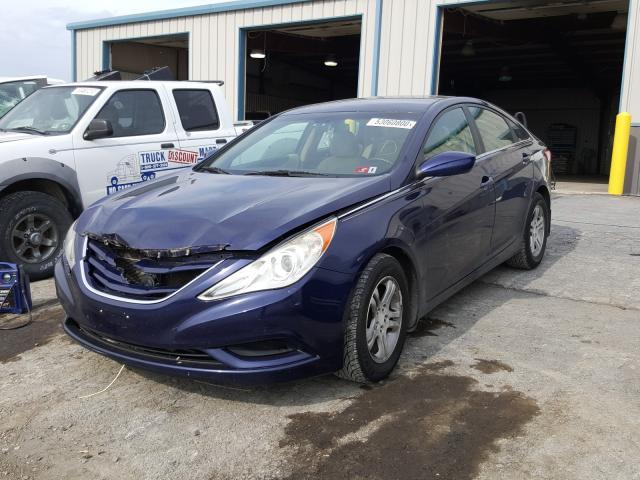 из сша 2011 Hyundai Sonata Gls 2.4L 5NPEB4AC5BH112184