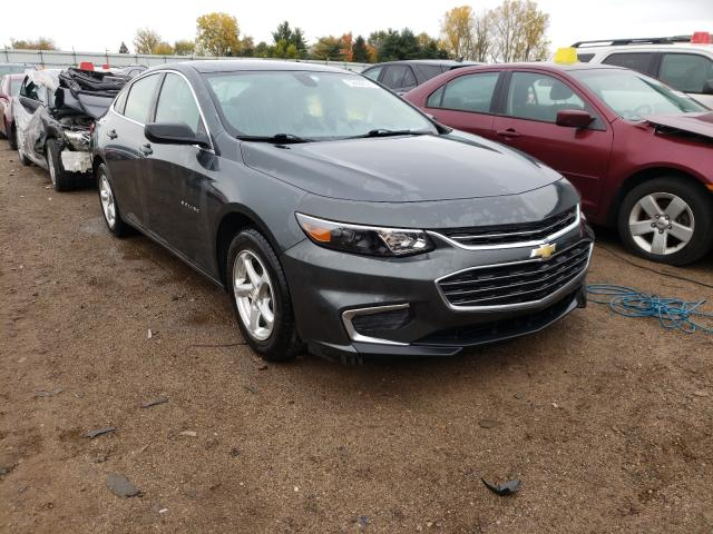 Salvage cars for sale from Copart Portland, MI: 2018 Chevrolet Malibu LS
