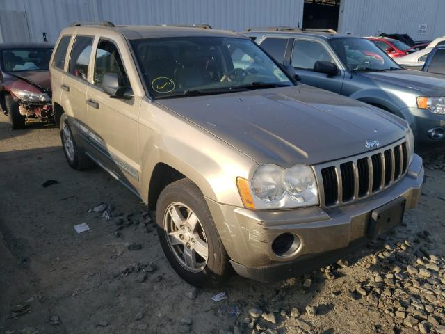 Salvage cars for sale from Copart Windsor, NJ: 2005 Jeep Grand Cherokee