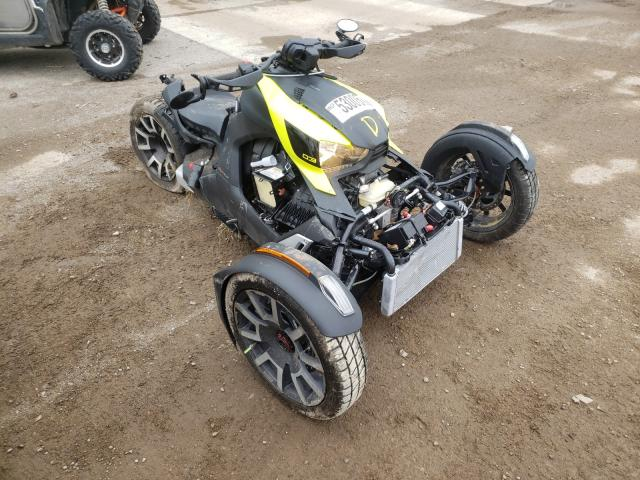 Salvage cars for sale from Copart Davison, MI: 2020 Can-Am Ryker Rall