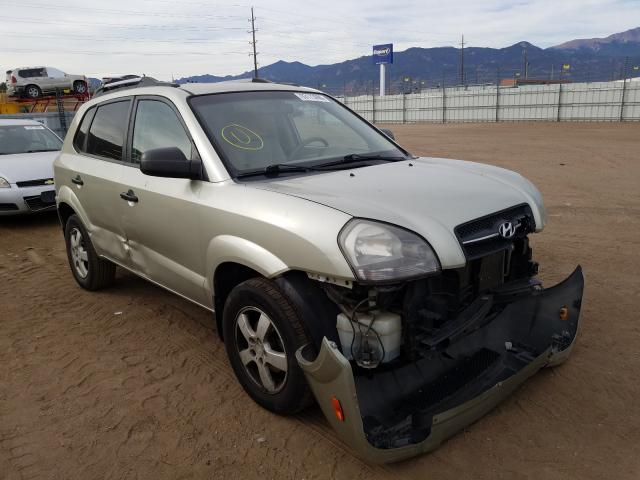 Hyundai salvage cars for sale: 2008 Hyundai Tucson GLS