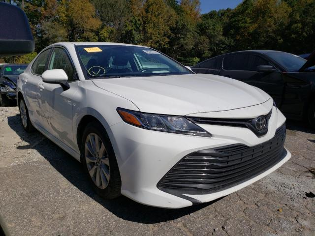 Salvage cars for sale from Copart Austell, GA: 2019 Toyota Camry L
