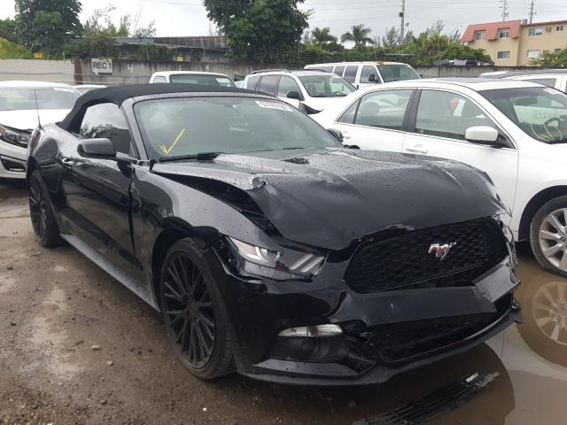 Salvage cars for sale from Copart Opa Locka, FL: 2016 Ford Mustang