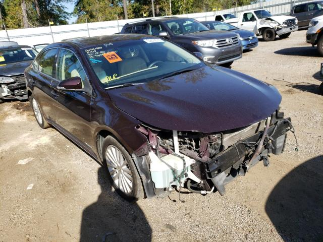 Salvage cars for sale from Copart Harleyville, SC: 2013 Toyota Avalon Hybrid