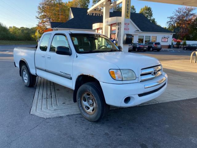 Salvage cars for sale from Copart Mendon, MA: 2003 Toyota Tundra ACC