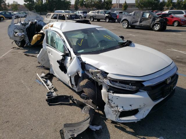Salvage cars for sale from Copart Rancho Cucamonga, CA: 2020 Honda Insight EX