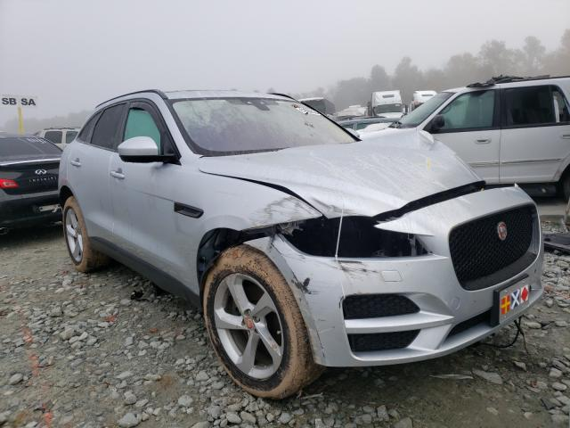 Salvage cars for sale from Copart Mebane, NC: 2017 Jaguar F-PACE Premium