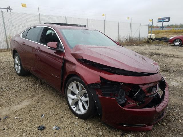 Salvage cars for sale from Copart Cicero, IN: 2017 Chevrolet Impala LT