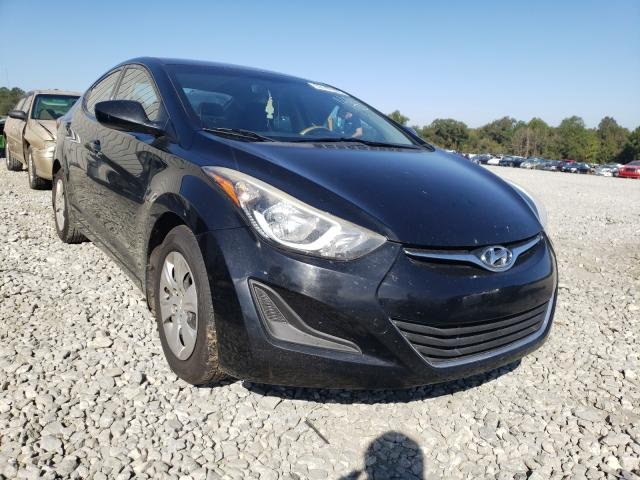 Salvage cars for sale from Copart Byron, GA: 2016 Hyundai Elantra SE