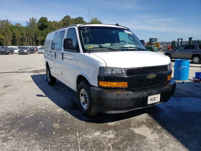 Salvage cars for sale from Copart Dunn, NC: 2019 Chevrolet Express G2