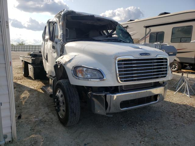 Salvage cars for sale from Copart New Braunfels, TX: 2020 Freightliner M2 106 MED