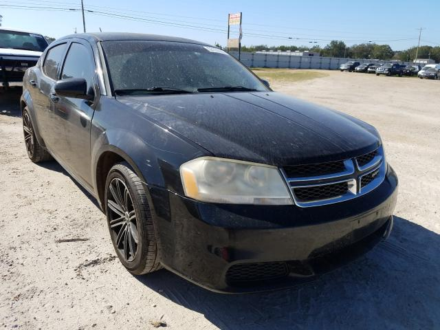 Salvage cars for sale from Copart Newton, AL: 2011 Dodge Avenger MA