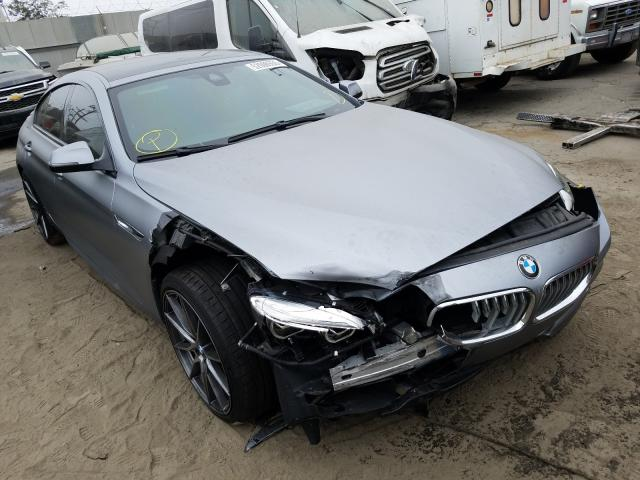 BMW 650 I Gran salvage cars for sale: 2016 BMW 650 I Gran
