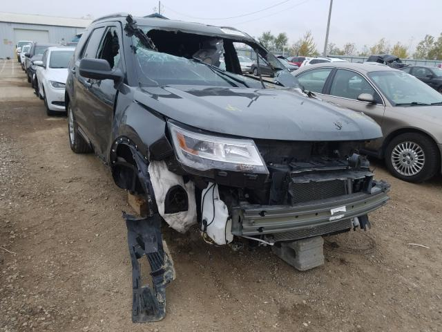 Salvage cars for sale from Copart Pekin, IL: 2019 Ford Explorer X