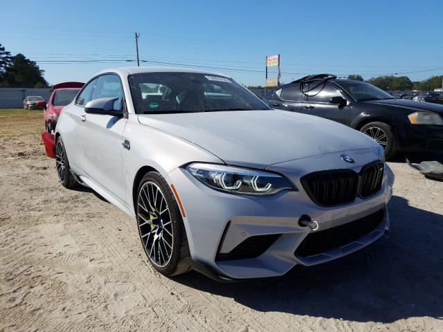 BMW M2 Competition salvage cars for sale: 2020 BMW M2 Competition