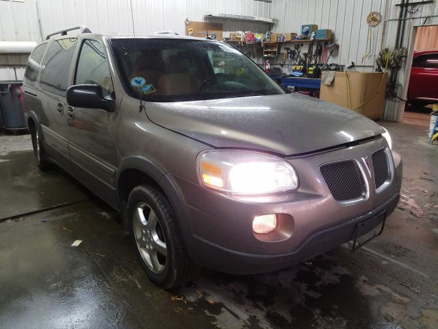 Pontiac Montana salvage cars for sale: 2006 Pontiac Montana