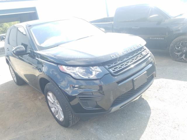 Salvage cars for sale from Copart Shreveport, LA: 2017 Land Rover Discovery