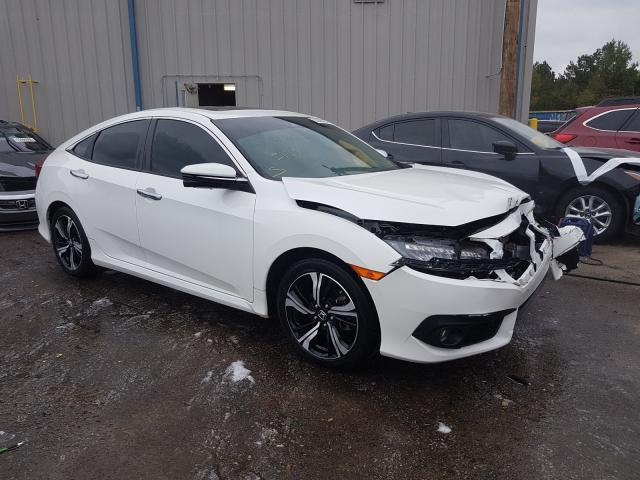 Honda salvage cars for sale: 2017 Honda Civic Touring