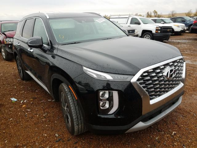 Salvage cars for sale from Copart Bridgeton, MO: 2020 Hyundai Palisade S