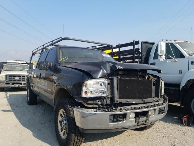 Salvage cars for sale from Copart Rancho Cucamonga, CA: 2007 Ford F350 SRW S