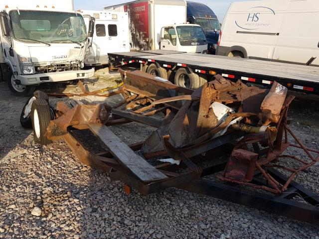 Salvage cars for sale from Copart Houston, TX: 2002 Tman Trailer
