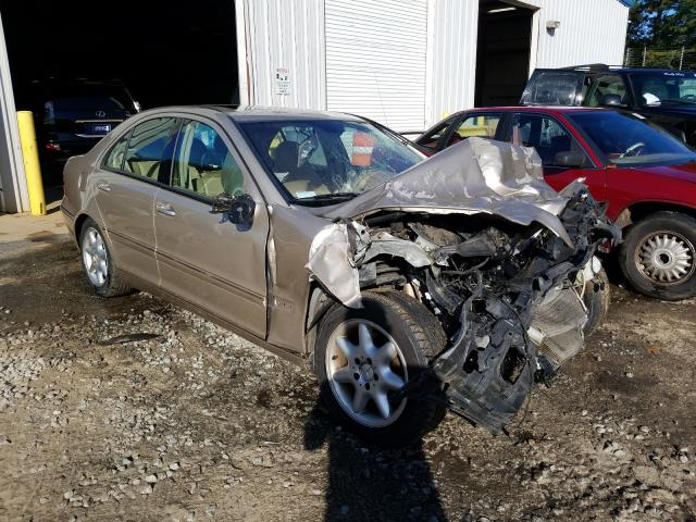 Salvage cars for sale from Copart Austell, GA: 2001 Mercedes-Benz C 240