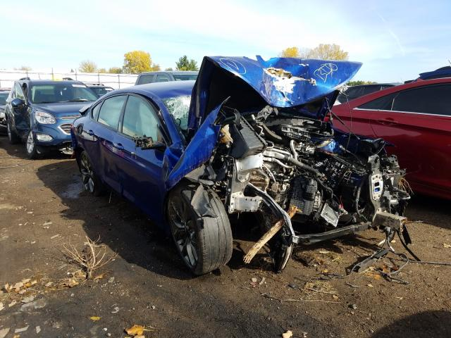 Salvage cars for sale from Copart Portland, MI: 2015 Chrysler 200 S