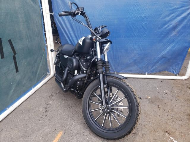 Harley-Davidson XL883 N salvage cars for sale: 2009 Harley-Davidson XL883 N