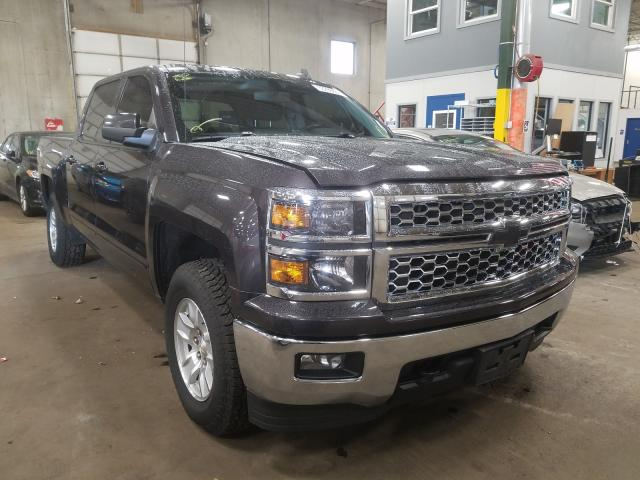 Salvage cars for sale from Copart Blaine, MN: 2015 Chevrolet Silverado